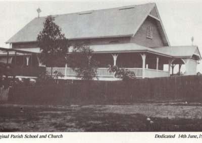 Mary Immaculate Catholic Primary School, Annerley - school parish 1914