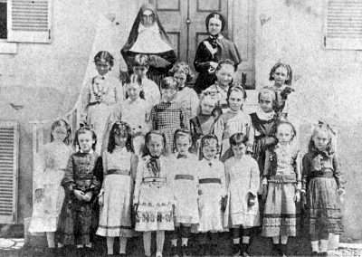 All Hallows Infants 1870s