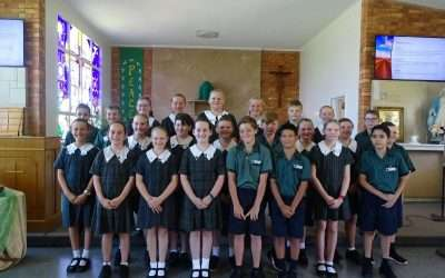 St Monica's Primary School, Oakey prepare for Centenary celebrations